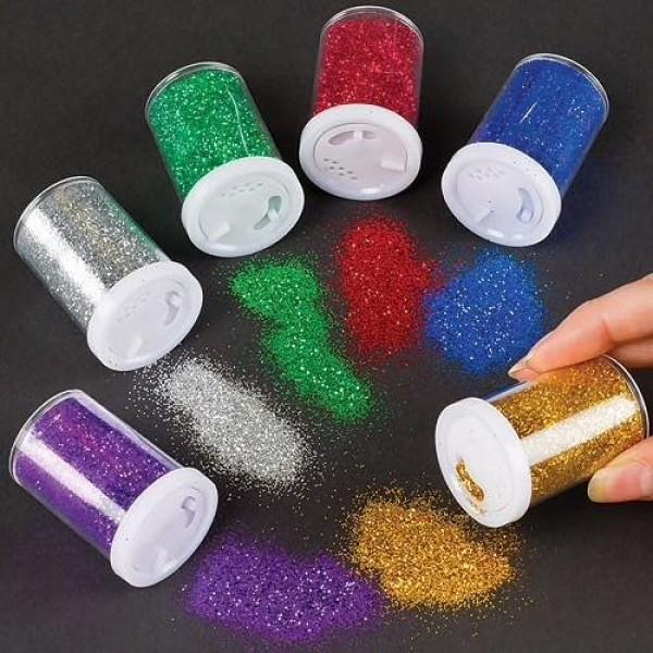 Glitter Liiv 6 tk