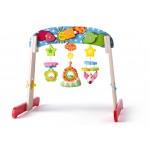 Деревянный тренажерный уголок для малышей
